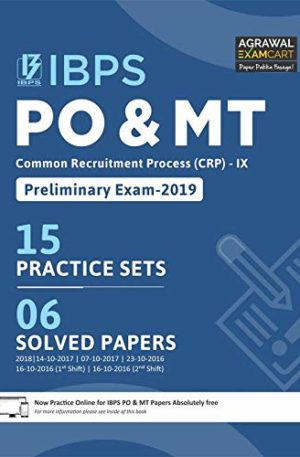IBPS PO & MT (CRP) - IX Preliminary Exam Book 2019 (English)
