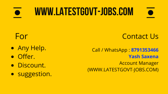 Contact us www.latestgovt-jobs.com
