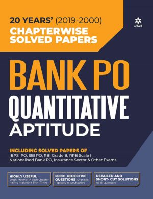 Bank PO quantitative aptitude book