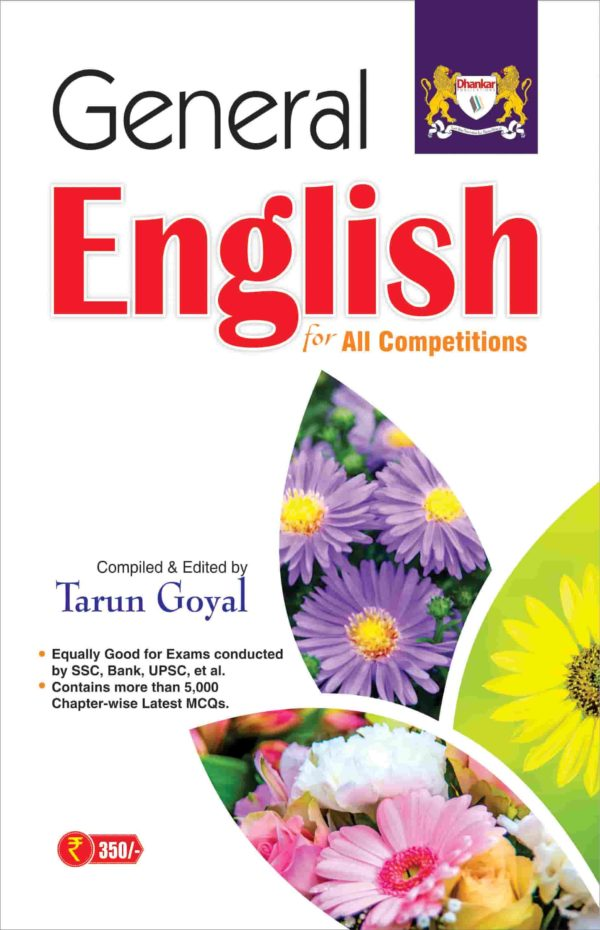 General English book for govt jobs exam